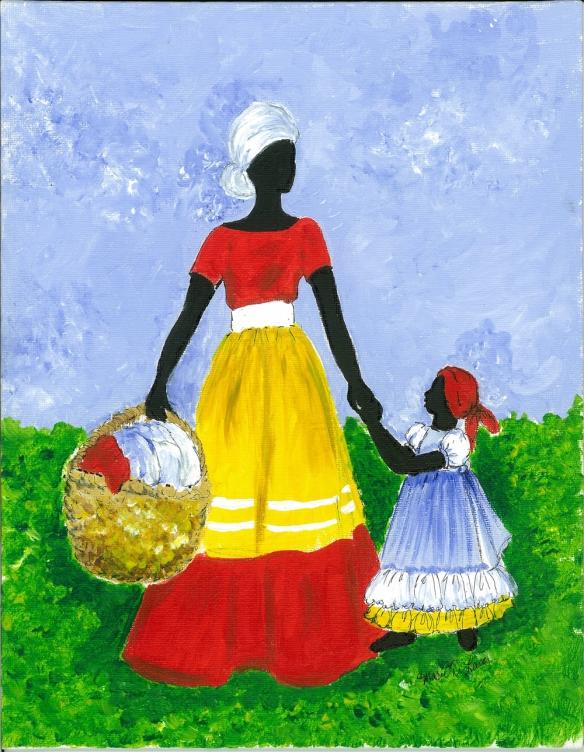 Mothers Little Helper by Marie D Lewis