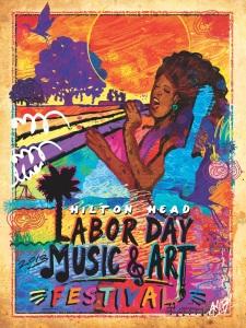 18x24 art msic fest poster