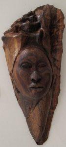 Afreekan Southwell - Antigua-USVI - Tung Yoni-mahogany wood