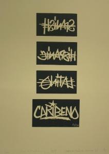 Carlos JM Rodriguez - Dominican Republic - Caribbean American-monoprint